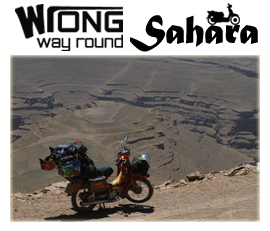 Wrong Way Round Sahara