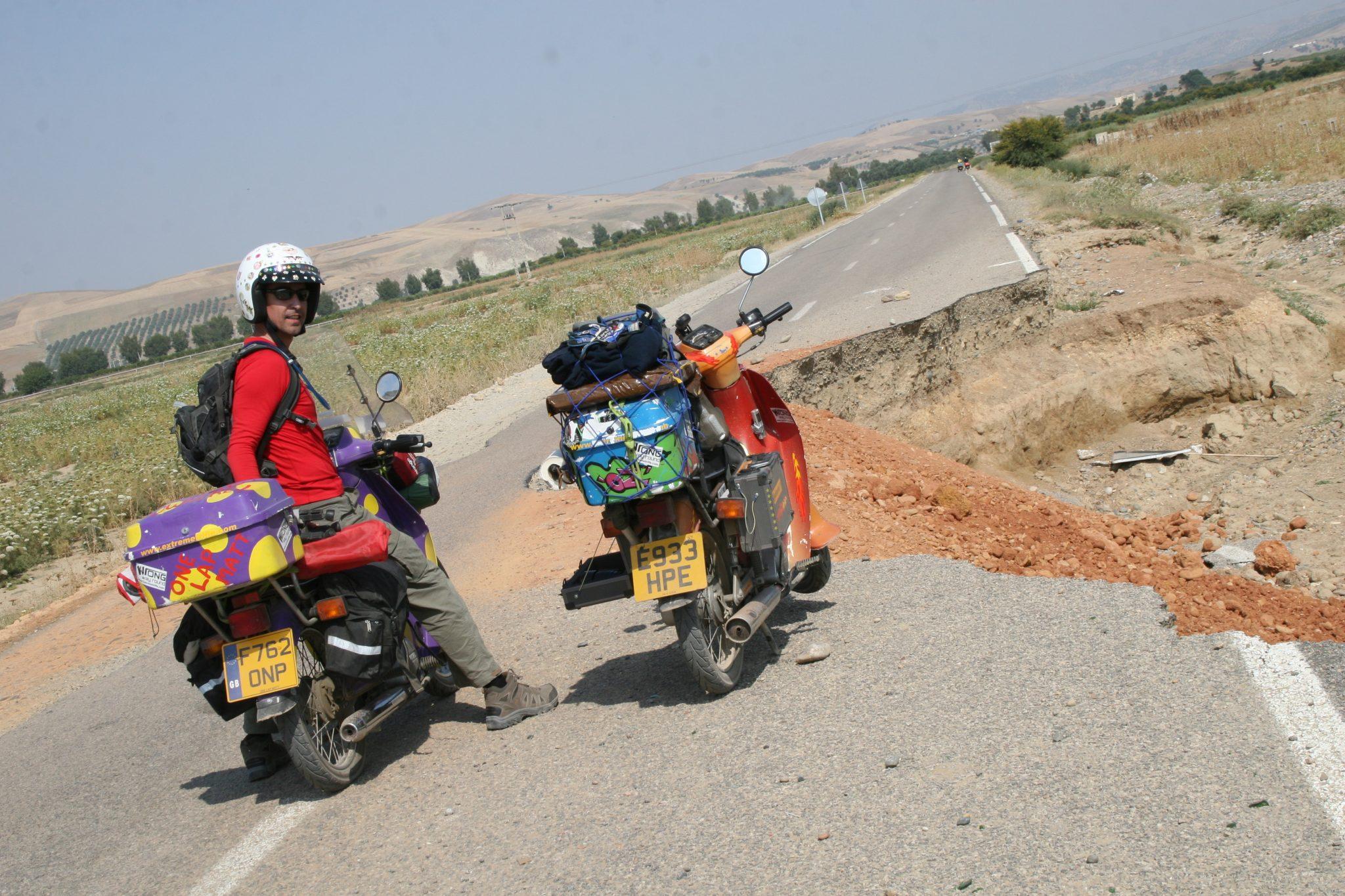moroccan pothole